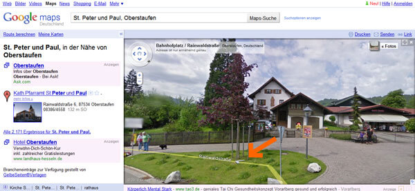 Streetview Anleitung