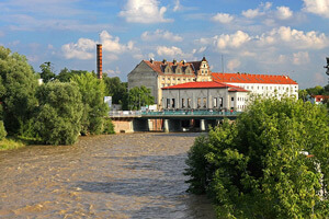 Hochwasser-Sachsen-Bild