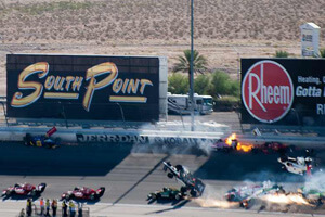 Indycar-2011-Crash-Las-Vegas